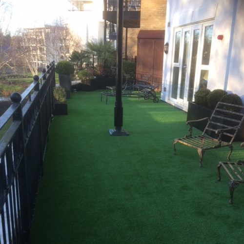 Designer surfaces - Roof Terrace Transformation 2
