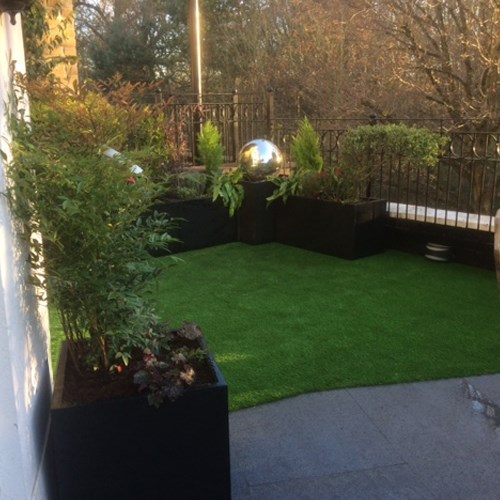 Designer surfaces - Roof Terrace Transformation 4